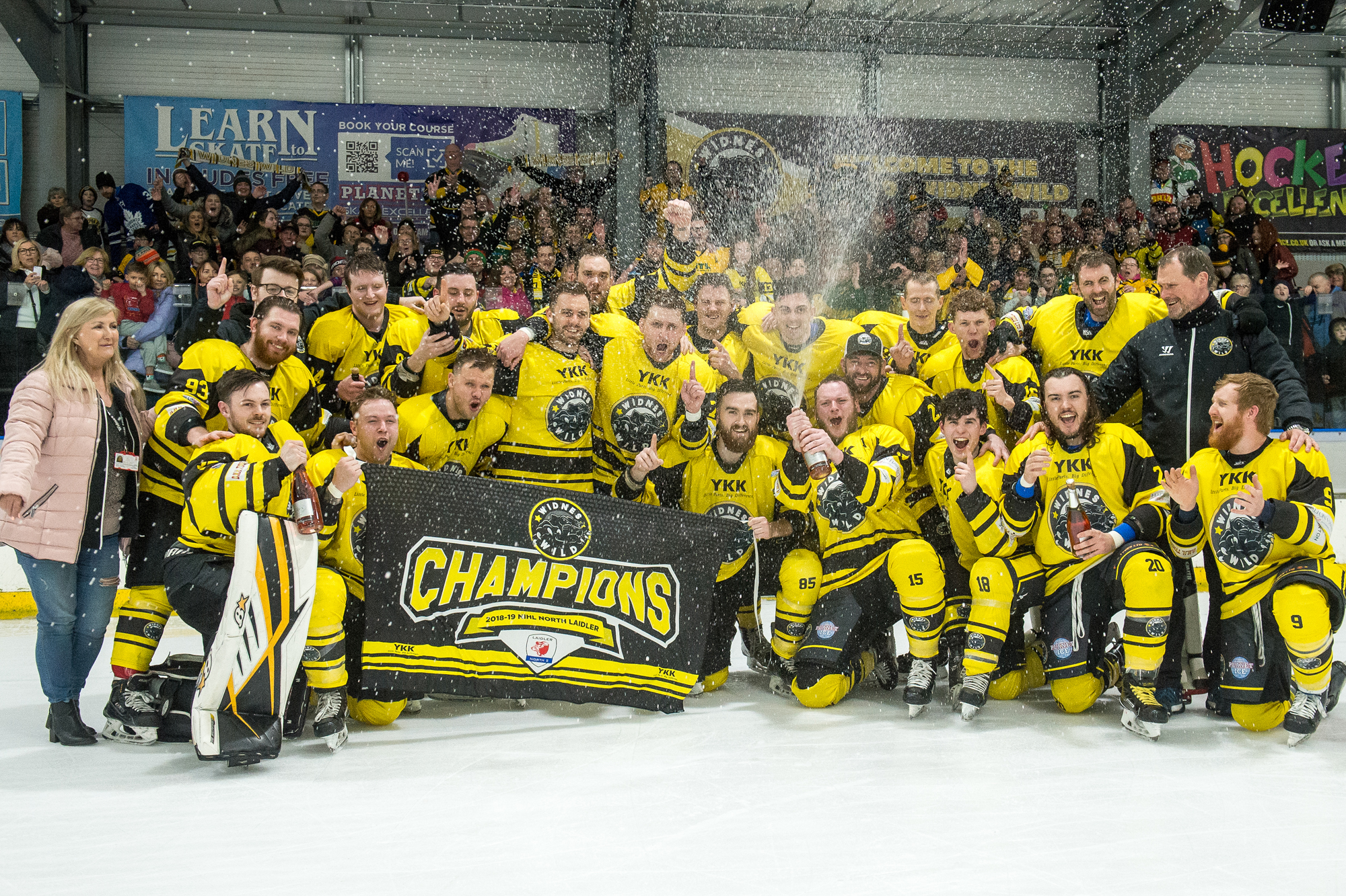 Flashback:  Widnes Wild – League Title Winners