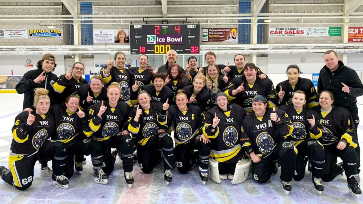 Wild Women Clinch League Title