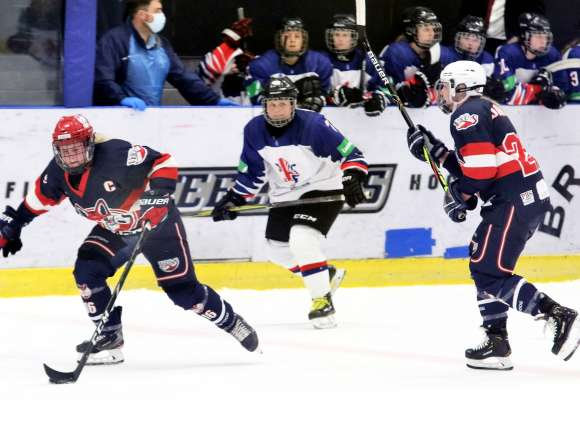 Wild Players Ice For Great Britain Uni Teams