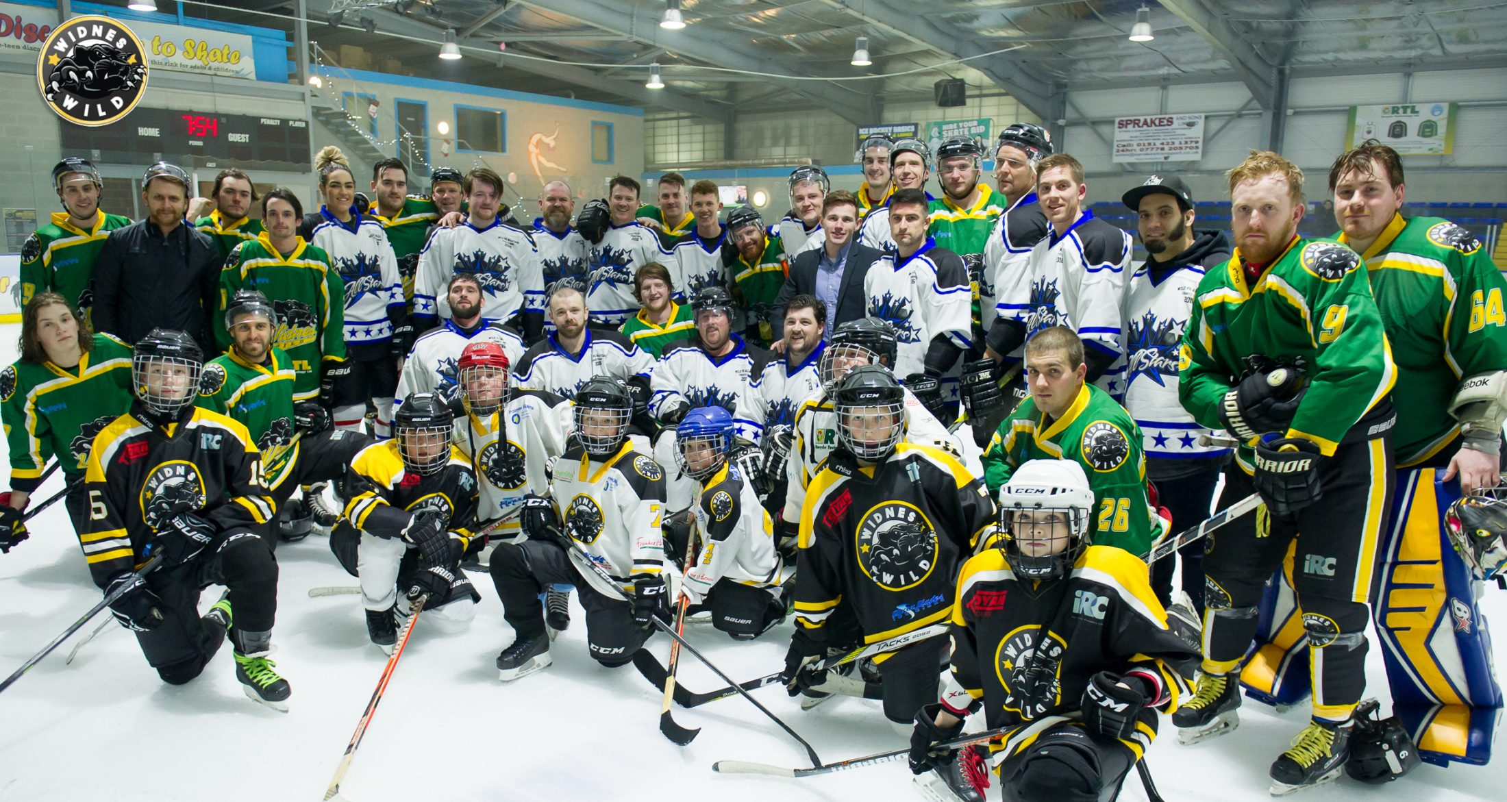 Festive Fun For A Good Cause In The Widnes Winter Classic