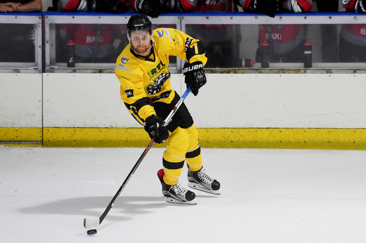 Ollie Baron First NiHL D2N Player of the Month