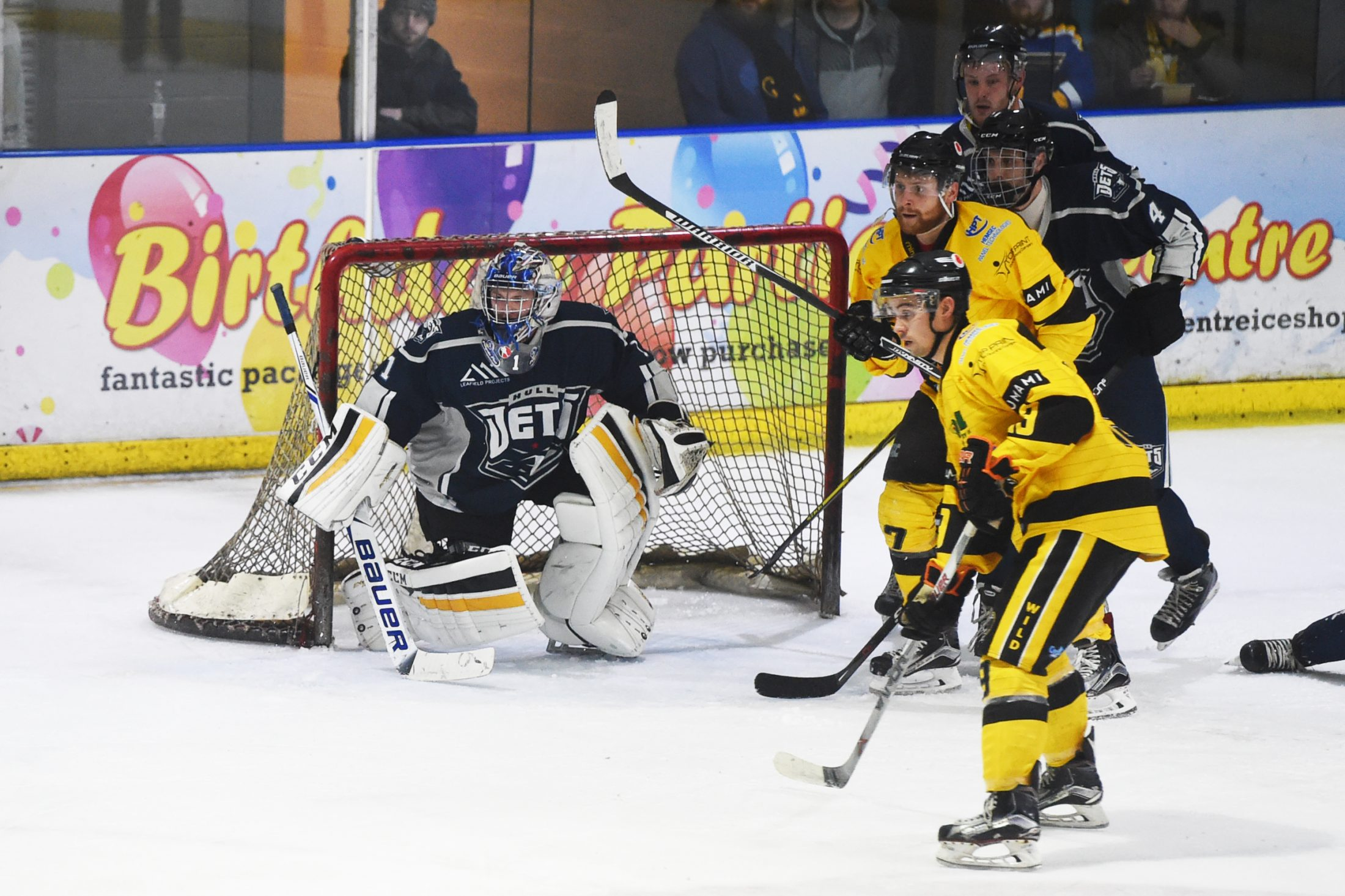 Wild At Home to Hull Jets In Crucial Match On Sunday