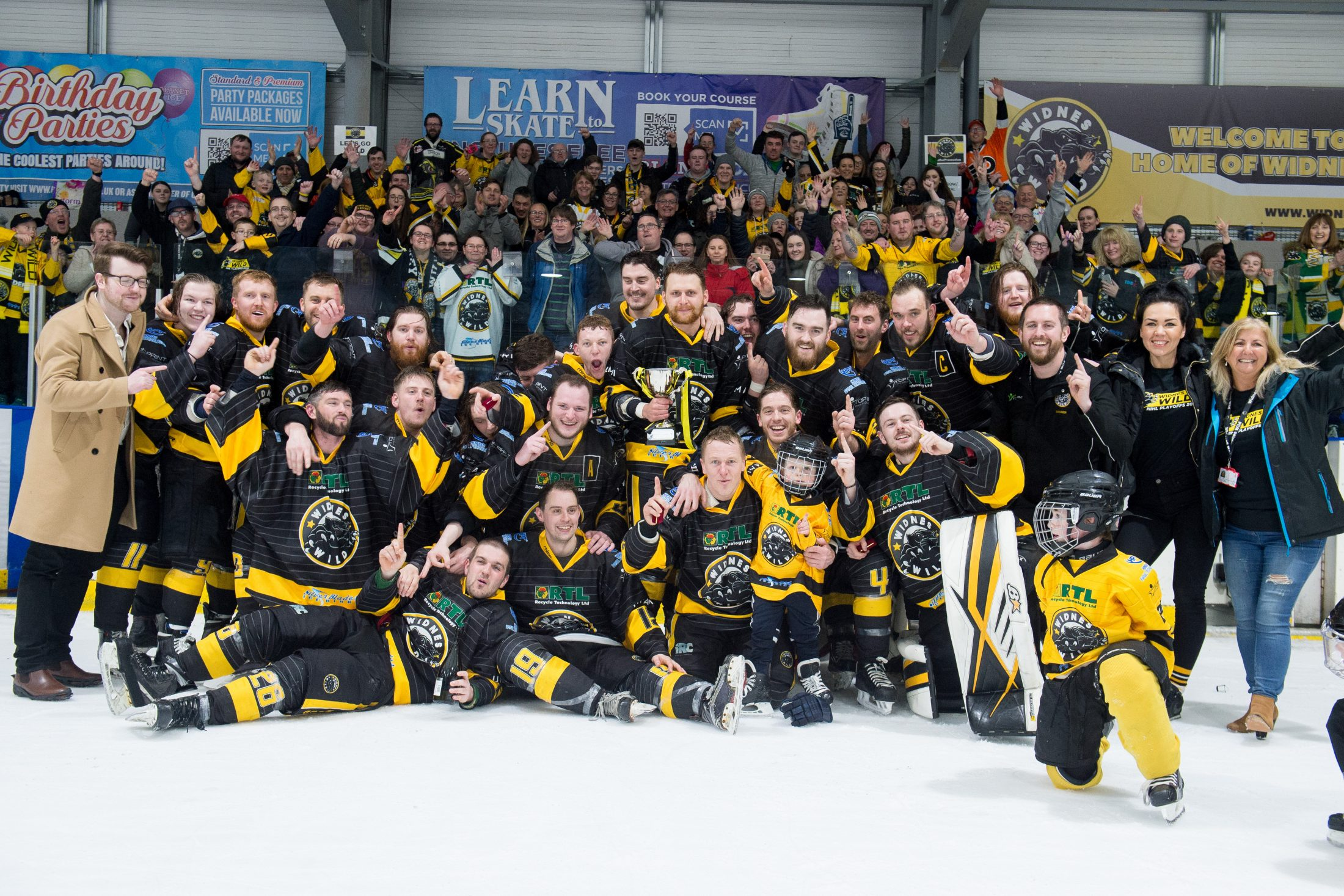 Wild Retain Laidler Trophy After Dramatic Play Off Weekend