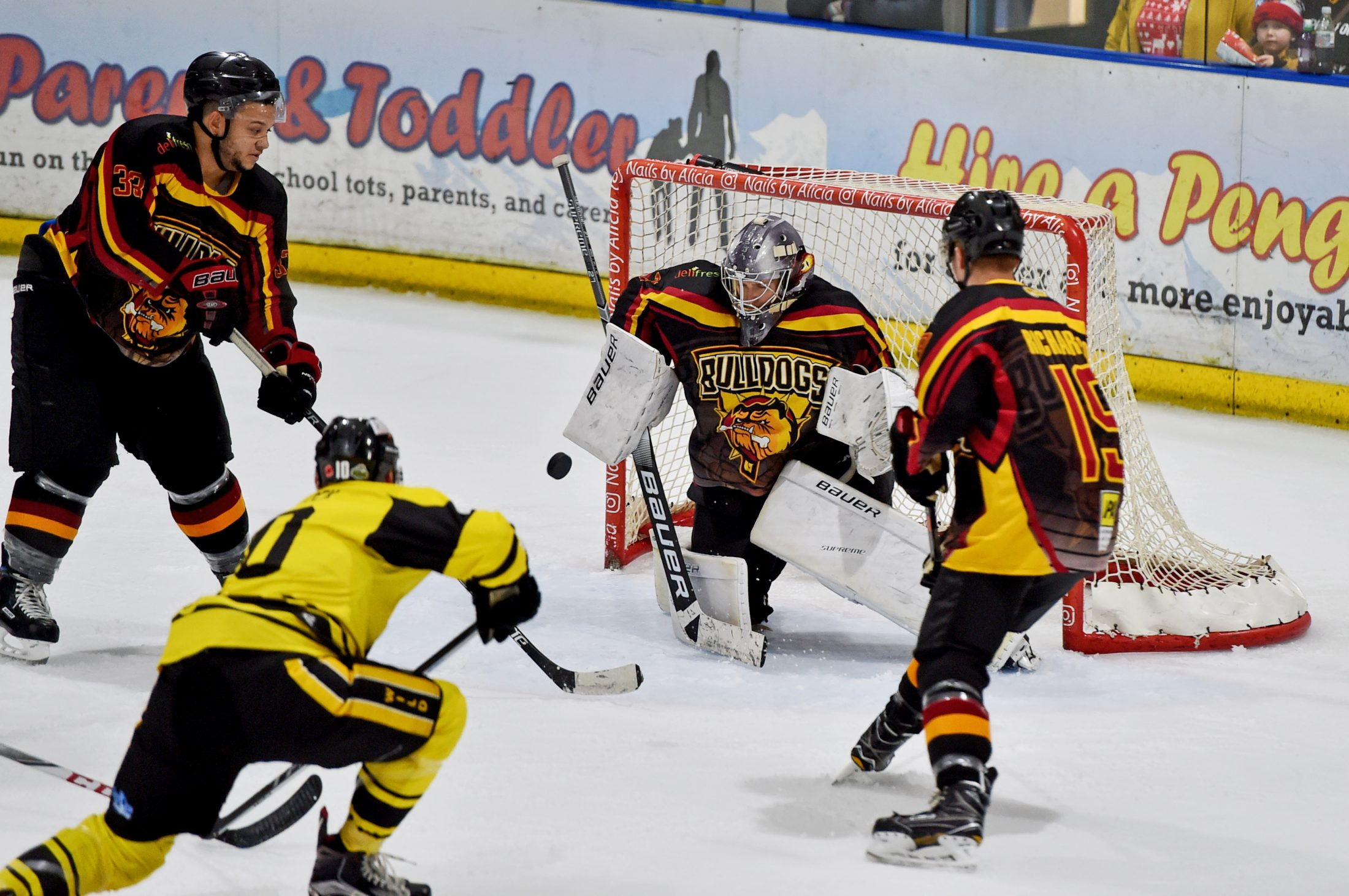 Festive Fun As Wild Tame Bulldogs in 4-Point Double Header Weekend
